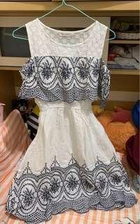 民族風連身裙