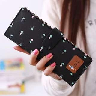 55 card holder ladies long wallet