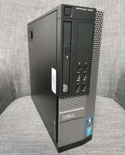 正版Win7  intel i3 CPU Dell 商務電腦 桌機 PC 小電腦
