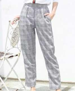 Houndstooth taylor pants
