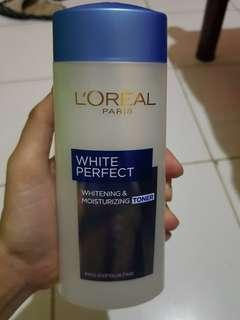Toner and face wash