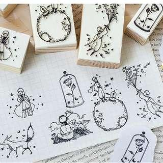 (COMING SOON) Le Petit Prince Wooden Stamps Cutouts