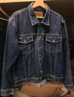 🚚 Vintage Hangten🦶 denim jacket Hangten古著丹寧刷色藍牛仔外套
