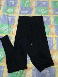 Women Highwaist Black Trousers