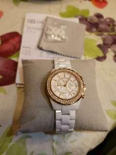 Titus 正版女裝白色陶瓷錶 Ceramic female watch