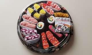 【全新】壽司造型襪 大滿足壽司盛 8對