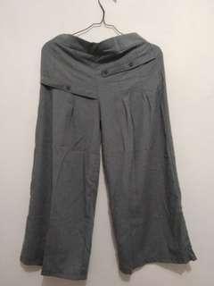 Celana Kulot Abu