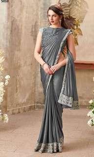 🚚 Ready to wear Designer Lycra SAREES