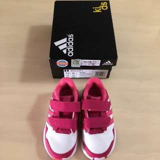 🚚 🤼‍♀️ADIDAS🤼‍♀️ Authentic Girls' Pink Snice 4 CF Toddlers/ Children/ Kids Shoes/ Sneakers (Size: UK6K) [S/N: 81486]