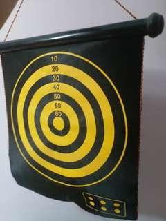 掛牆式雙面派對飛標遊戲(連6個磁石飛標)