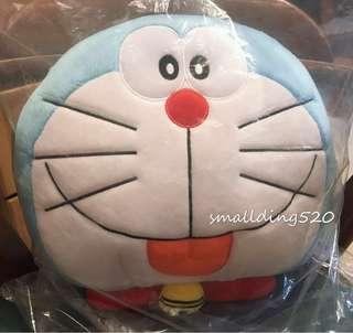 全新多啦A夢 Doraemon 叮噹 毛毯 + cushion