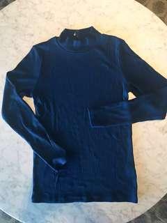 Uniqlo Turtleneck Rib-Knitted Sweater #MMAR18 #MakeSpaceForLove