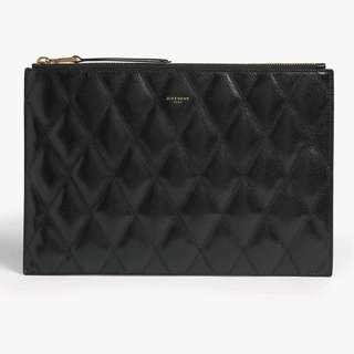 Givenchy Pouch in Diamond Quilted Leather
