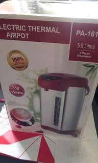 Electric thermal airpot