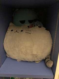 Pusheen cat grey plush