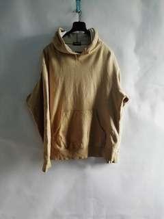 Uniqlo Light Cream Pullover Hoodie L