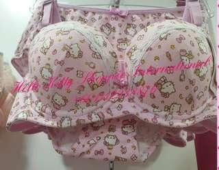 Readystocks Hello Kitty Authentic Bra and Panty