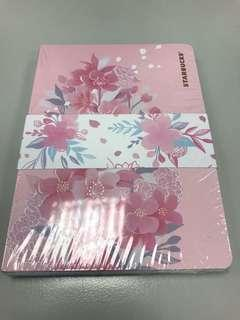 Starbucks notebook 2019 版( 櫻花+ 繡球花系列)