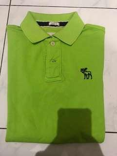 Kaos polo Abercrombie and fitch