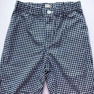 bnwt dark blue gingham tilden pants