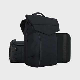 APro Bundle (CarryMax Backpack, SmallCube Sling Bag with Waistband, Digital Handbag)