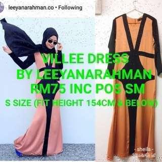 Villee Dress by Leeyanarahman