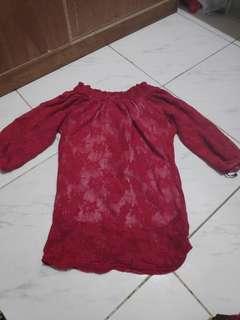 Red Top (Off Shoulder)