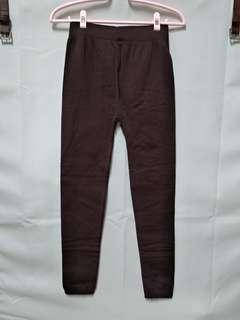 🚚 內搭褲 刷毛 咖啡色 厚