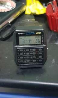 original casio calculator watch (back to the future)