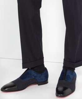 Christian Louboutin men's 43 derby shoes - Bally berluti loafers Valentino
