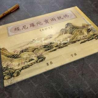🚚 4本入 L015 台灣印刷🙏淨化加持😇手抄本佛說雨寶陀羅尼經 可抄寫5遍