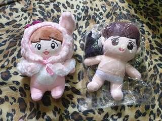 EXO Baekhyun & Chanyeol dolls