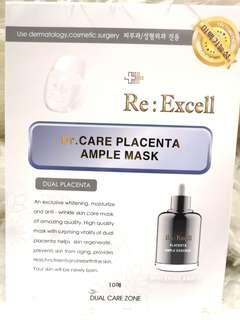 Dr. Care Placenta Ample Mask for WHITENING 10 pieces in a box