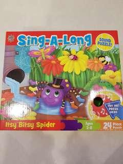 Sing-a-long with Itsy Bitsy Spider Puzzle