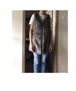 ASOS faux fur vest ✌🏼✌🏼
