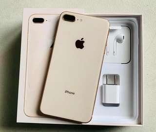 FORSALE 8PLUS GOLD 64GB OPENLINE GOOD AS NEW