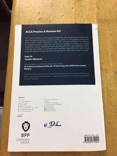 ACCA F6 Practice & Revision Kit