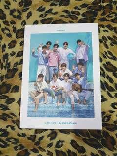 Wanna One Summer Package Making Dvd