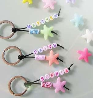 Customised Name Keychains