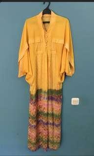 Kaftan Yellow Cantik