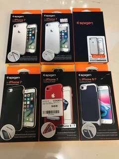 Iphone 7/8 Spigen cases