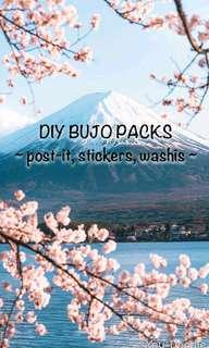 🚚 DIY BUJO PACK!!
