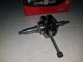 Crankshaft sck y15zr jetrod 4.5mm rod 102. Gransap y15zr