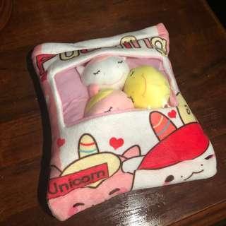 🚚 unicorn pudding plush