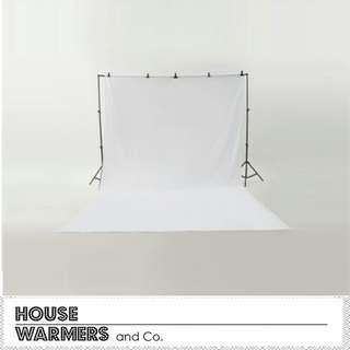 Photoshoot Backdrop Stand and Cloth