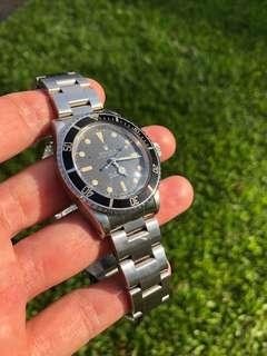 🚚 Rolex submariner 5513 matte sales receipt paper