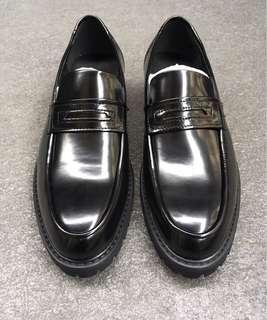 Zalora leather shoes