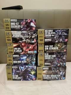 🚚 HGUC Gundam Sales