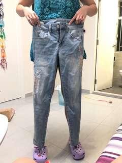 AE牛仔褲99%新 著過2-3次 AMERICAN EAGLE 🦅 Jeans