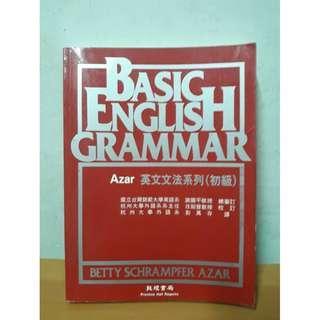 🚚 BASIC ENGHLISH GRAMMAR 英文文法書